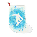 Snowboarding stocking