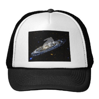 Snowboarding the Andromeda Galaxy. Cap
