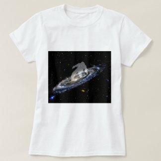 Snowboarding the Andromeda Galaxy. T-Shirt