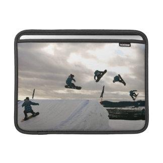 "Snowboarding Tricks 13"" MacBook Sleeve"