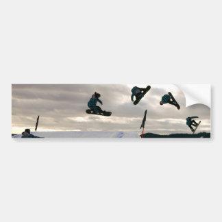 Snowboarding Tricks Bumper Stickers