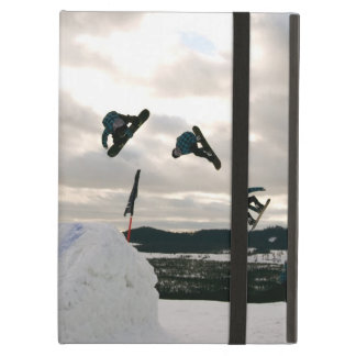 Snowboarding Tricks Case For iPad Air