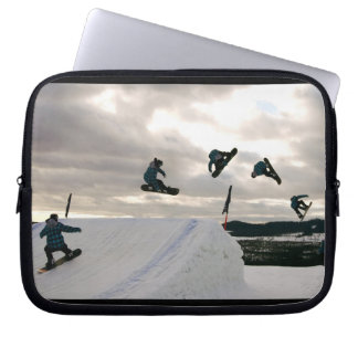 Snowboarding Tricks Electronics Bag Computer Sleeves