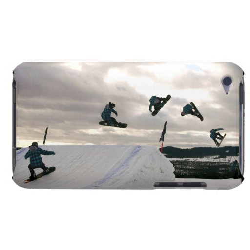 Snowboarding Tricks iTouch Case Barely There iPod Covers