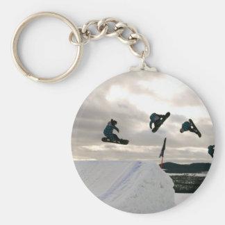 Snowboarding Tricks Keychain