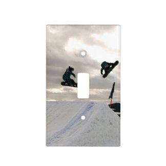 Snowboarding Tricks Light Switch Cover