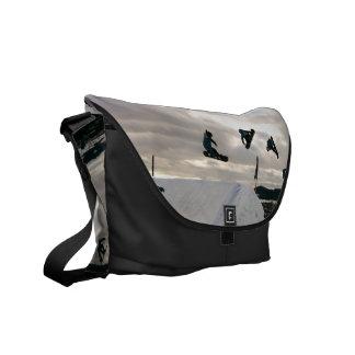 Snowboarding Tricks Messenger Bag