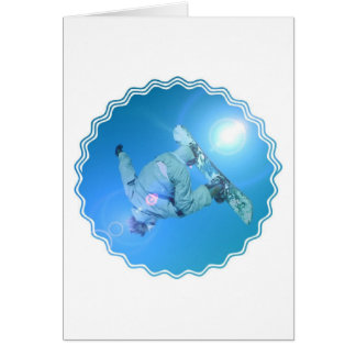 Snowboarding Tricks Pictures Greeting Card