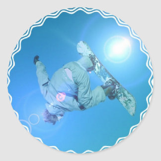 Snowboarding Tricks Pictures Stickers