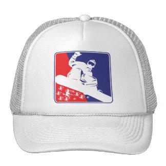 Snowboarding, USA Trucker Hat