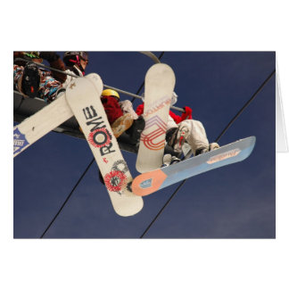 Snowboards Greeting Card