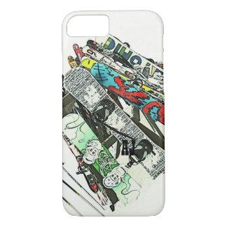 Snowboards iPhone 7 case