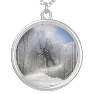Snowboaridng 360 Necklace