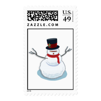 SnowBot Stamp