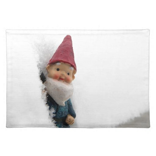 Snowbound Hector Cloth Placemat