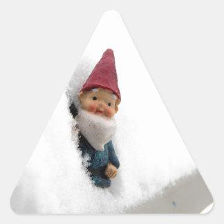 Snowbound Hector Triangle Sticker