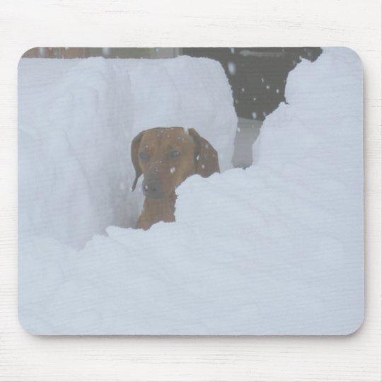 Snowbound Mouse Pad