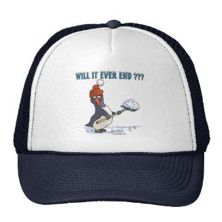 Snowbound Penguin Trucker Hat