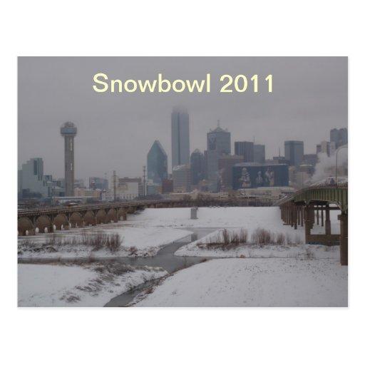 Snowbowl 2011 tarjetas postales