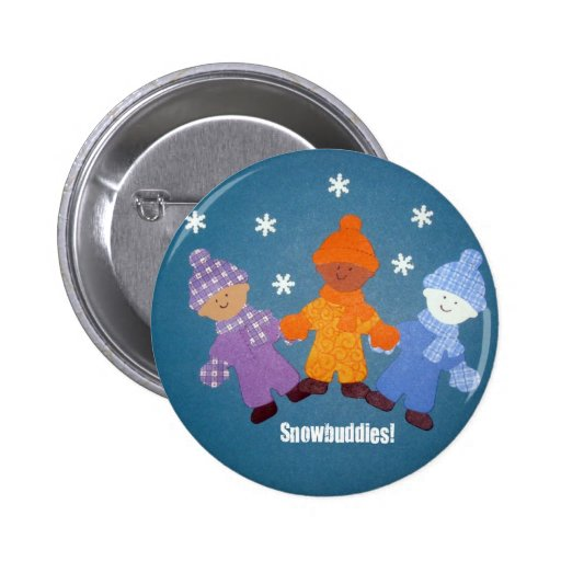 Snowbuddies! Button