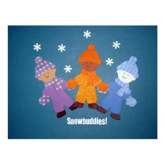 Snowbuddies! Postcard