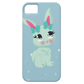 Snowbunny in Wonderland baby bunny iphone 5 case
