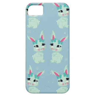 Snowbunny in Wonderland Holiday iphone 5 case