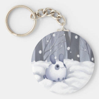 Snowbunny Keychain