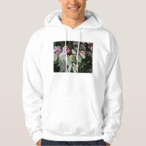 snowbush colorful plant hoodie