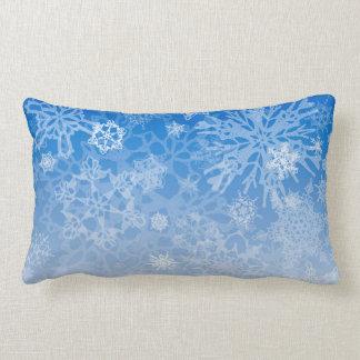 Snowcatcher Snowflake Blizzard Pillow