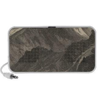 Snowclad mountains iPhone speaker