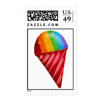 Snowcone Postage Stamps