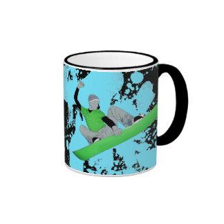 snowCORE Ringer Coffee Mug