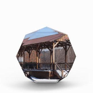 Snowcovered Hawley Train Station Award