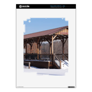 Snowcovered Hawley Train Station Skins For The iPad 2