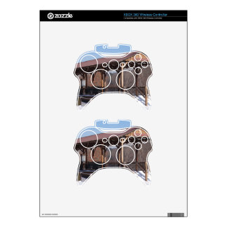 Snowcovered Hawley Train Station Xbox 360 Controller Decal