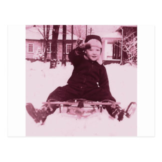 Snowday Postcard