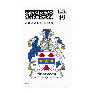 Snowden Family Crest Stamps