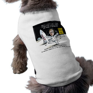 Snowden On The Moon Funny Tee