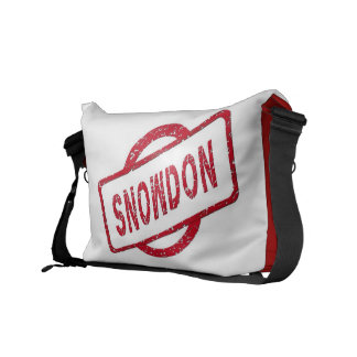 Snowden Supporter Messenger Bags