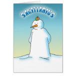 Snowdiac - Sagittarius Greeting Card