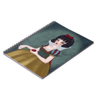 SnowDoll book Notebook