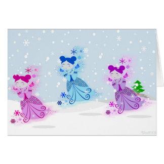 Snowdolls Card