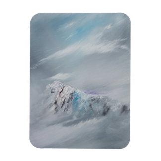 Snowdon 1 2014 rectangular photo magnet