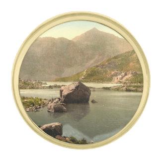 Snowdon de Llyn Llydaw, Gwynedd, País de Gales Insignia Dorada