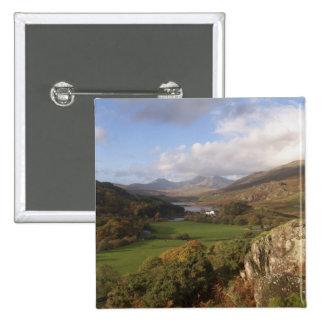 Snowdon del capelo Curig, Gwynedd, País de Gales ( Pin Cuadrado
