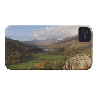 Snowdon from Capel Curig, Gwynedd, Wales (RF) iPhone 4 Case-Mate Case