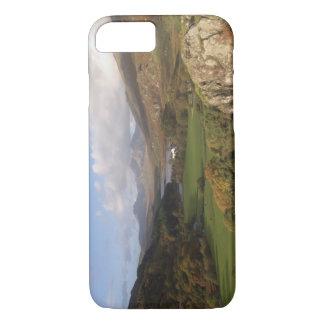 Snowdon from Capel Curig, Gwynedd, Wales (RF) iPhone 7 Case