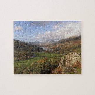 Snowdon from Capel Curig, Gwynedd, Wales (RF) Puzzle