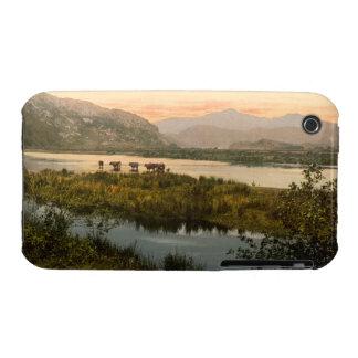 Snowdon from Glaslyn, Gwynedd, Wales iPhone 3 Case-Mate Case